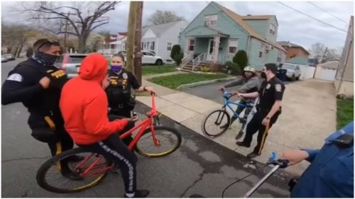 New Jersey cops under fire for seizing bikes from 'unlicensed' Black teens