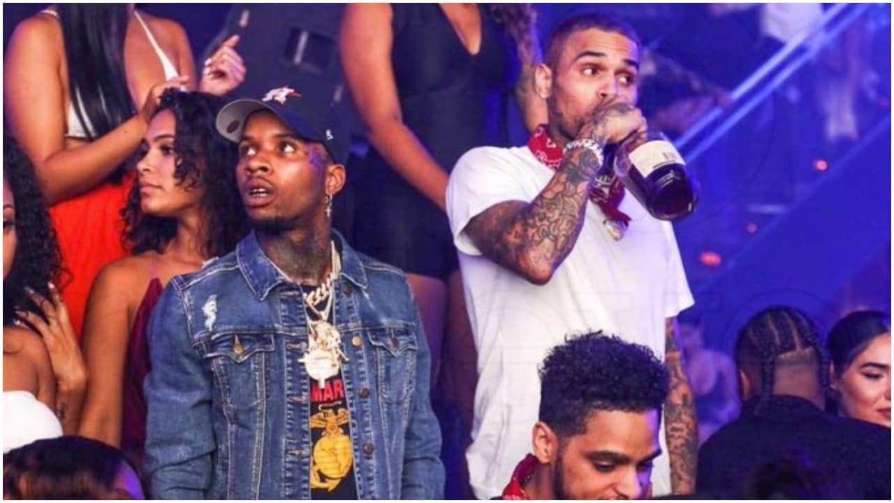 Black Twitter drags newly announced Tory Lanez, Chris Brown album