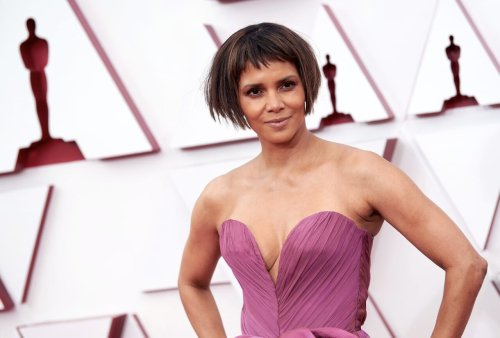 Halle Berry joins in on the fun after fans joke about bob job