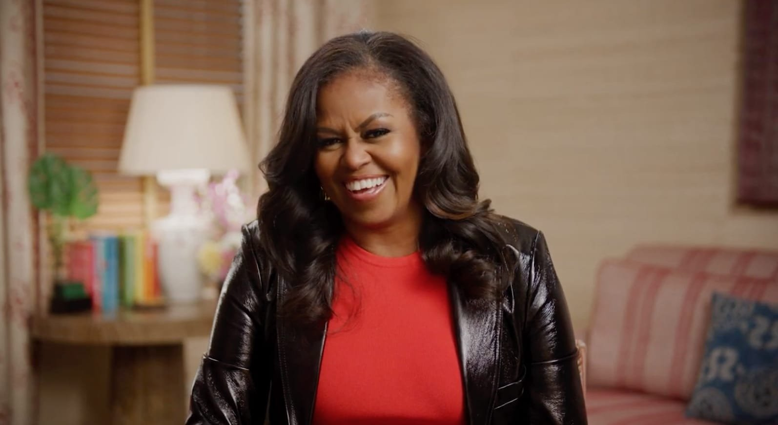 Michelle Obama reacts to 'sick' Kimmel question about sex with Barack
