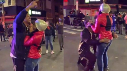 Couple gets engaged during Philadelphia protests for Walter Wallace Jr. - TheGrio