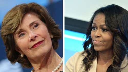 Bipartisan Backlash: Michelle Obama supports Laura Bush tweet calling out Trump for 'cruel and immoral' immigration policy - TheGrio