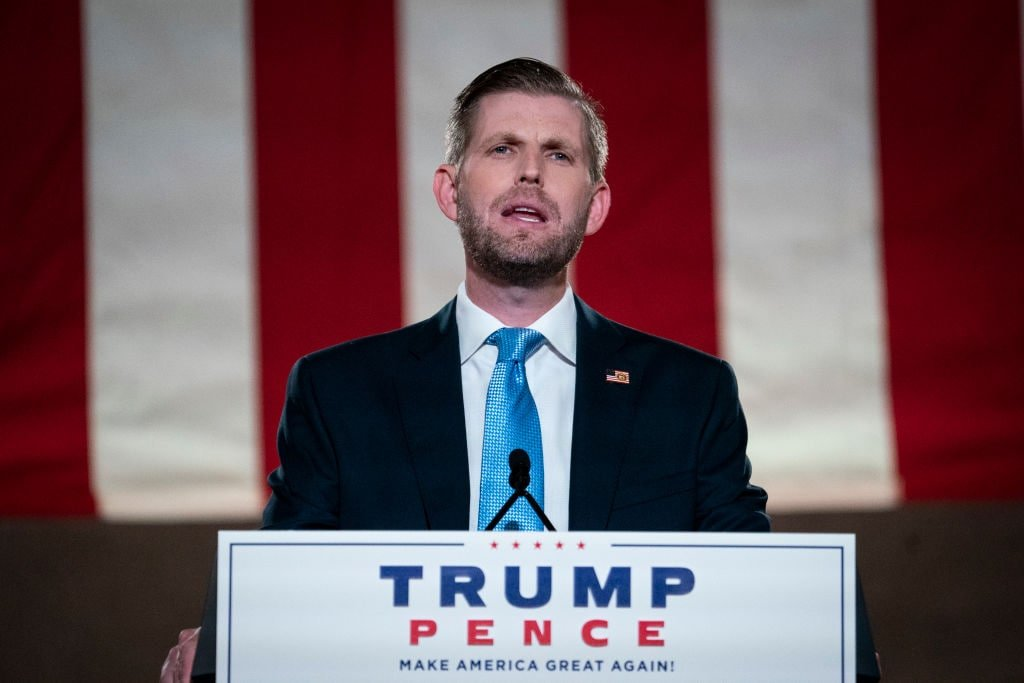 Eric Trump to comply with New York AG's subpoena only after Election Day