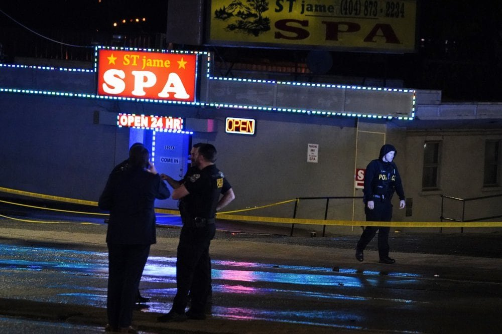 Officer who said spa shooter had 'bad day' has history of posting racist shirts