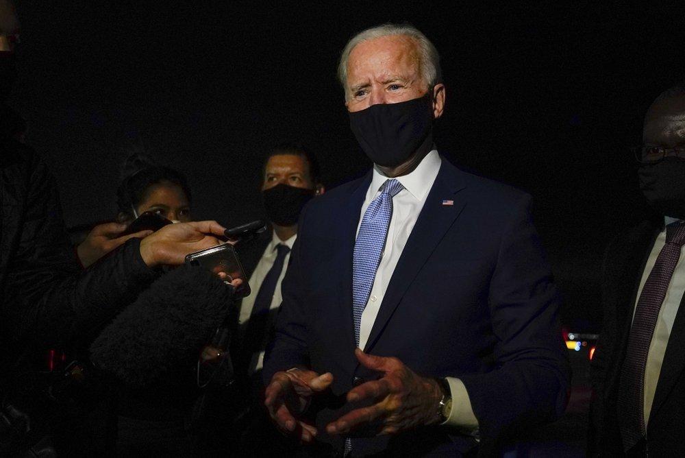 Biden makes push for voters on National Black Voter Day