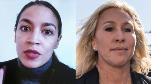 AOC says she 'threw out' people like Taylor Greene as bartender following Capitol clash - TheGrio