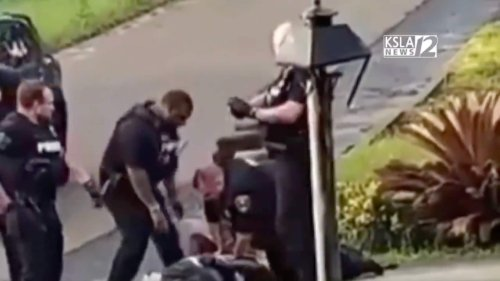 Black grandfather punched, kicked by 5 officers in viral video - TheGrio