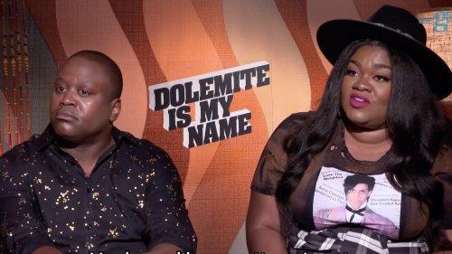Tituss Burgess and Da'Vine Joy Randolph dish on 'Dolemite'