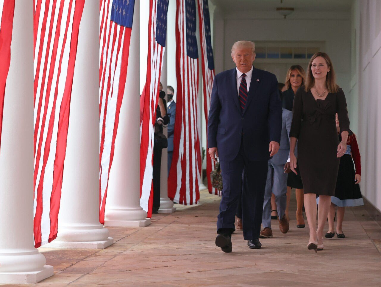 Trump selects Amy Coney Barrett for SCOTUS seat