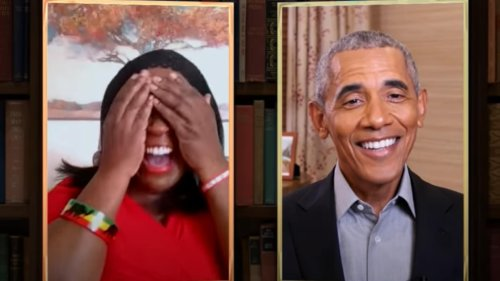 Obama surprises fan with live book reading on 'Jimmy Kimmel Live' - TheGrio