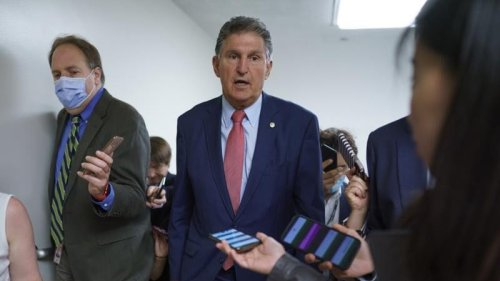 Manchin says he'll vote against 'partisan' Dem elections bill