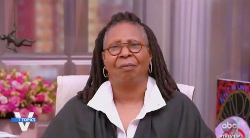 Whoopi Goldberg goes viral for one-word reaction to Meghan McCain's comments - TheGrio