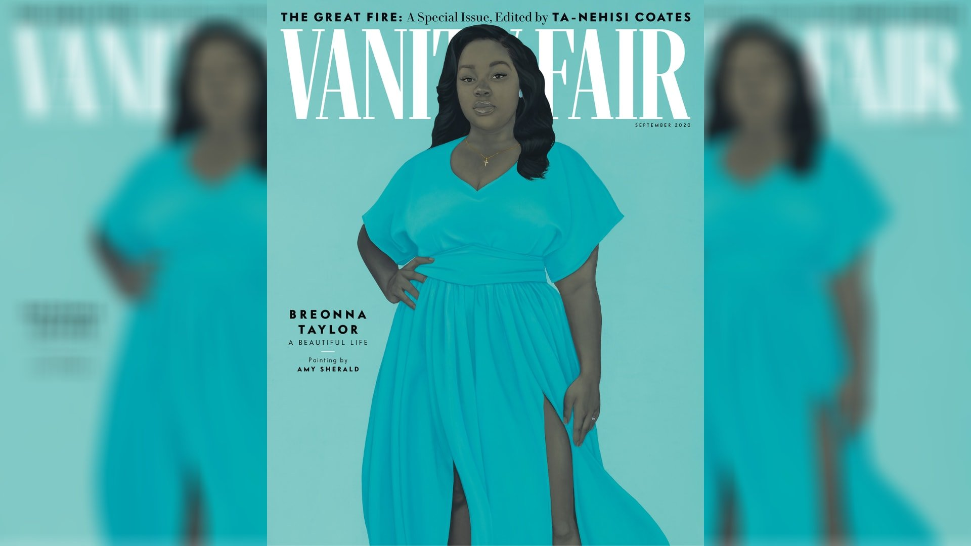 Breonna Taylor honored with Vanity Fair cover painted by Black artist Amy Sherald