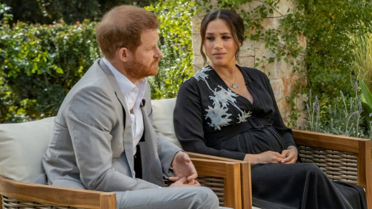 Wild internet theory claims Harry and Meghan were CGI, worse about Oprah