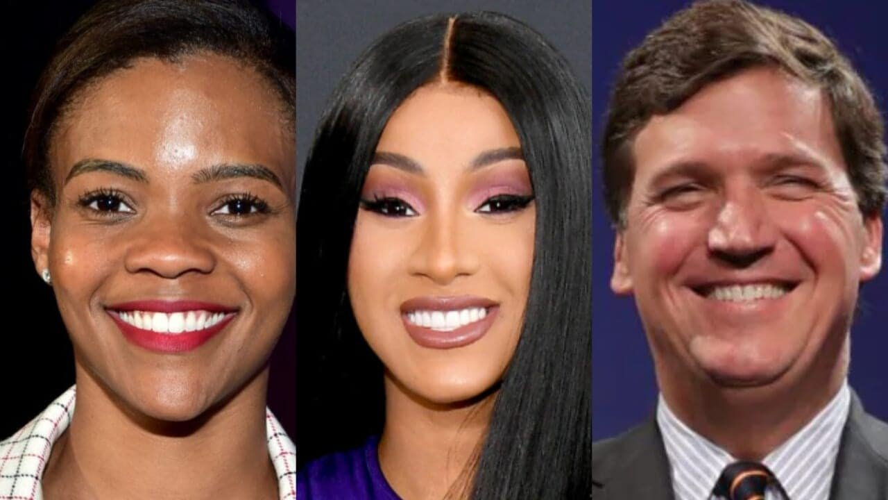 Cardi B claps back at Tucker Carlson as only she can