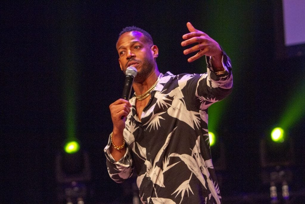 """Marlon Ways says social media to blame for """"canceling"""" comedians"""