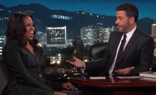 """FUNNY VIDEO: Watch Michelle Obama play """"Things I couldn't say in the White House"""" with Jimmy Kimmel - TheGrio"""