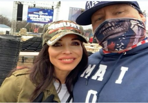 Detective files for divorce after wife pictured at Capitol riots with another man
