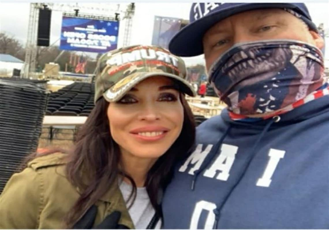 Cop files for divorce after FBI shows wife attended DC riots with another man