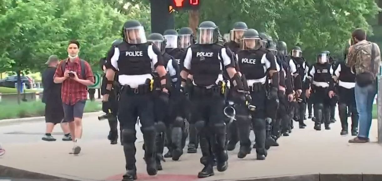 3 Ohio officers charged for excessive force during George Floyd protests