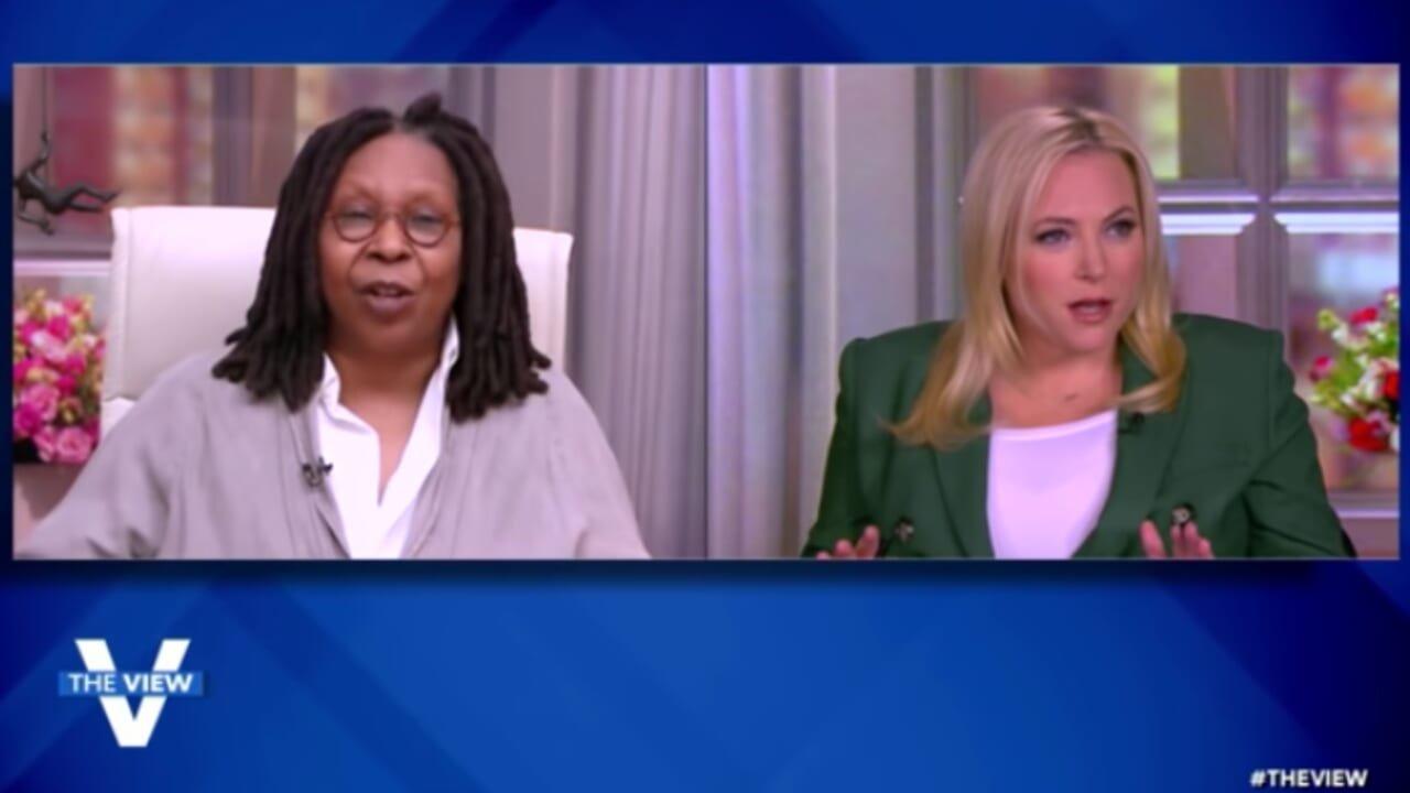 Whoopi Goldberg shuts down Meghan McCain over Georgia voting laws