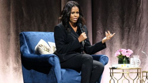 Michelle Obama cancels book tour dates to attend Bush's funeral