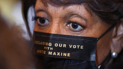Maxine Waters slams 'blatant distortion' of critics framing her as violent - TheGrio