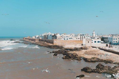 Essaouira {Marokko}: Der Strand von Marrakesch