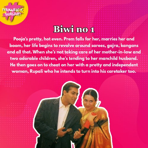Throwback Thursday: 5 Movies That Show Bollywood's Sexist Definition Of A Good Wife