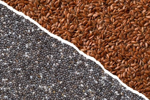 Chia Seeds vs. Flaxseeds: What's the Difference?