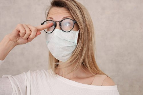 How to Keep Your Glasses from Fogging Up When Wearing A Face Mask