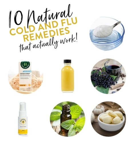 10 Natural Cold and Flu Remedies That Work - The Healthy Maven