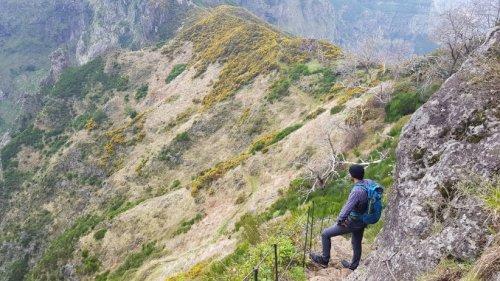 Pico Grande Besteigung auf Madeira
