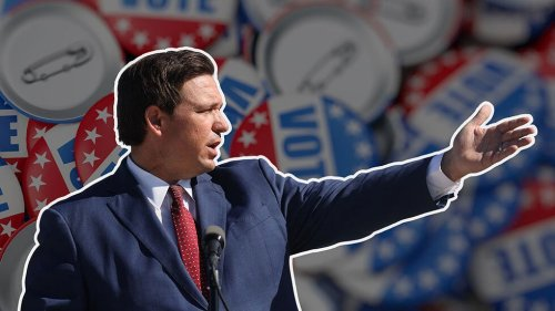 Florida governor adept student of Trump playbook