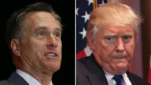 Romney on NRSC awarding Trump: Not 'my preference'