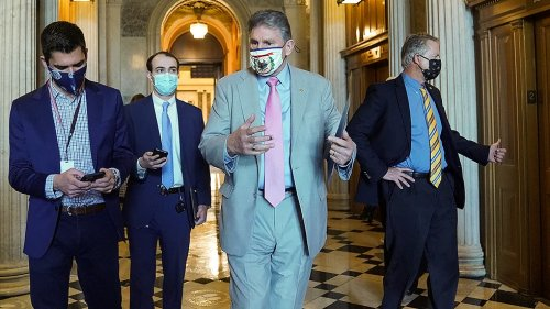 Manchin on his increased call for bipartisanship: Capitol riot 'changed me'