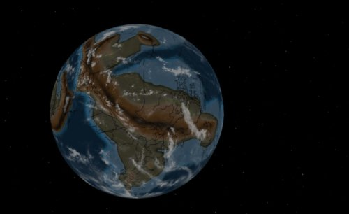 Digital map shows where your hometown was when dinosaurs roamed the Earth