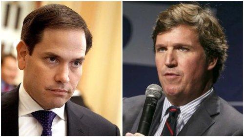 Rubio presses DNI to investigate alleged unmasking of Tucker Carlson