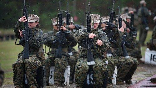 Marine recruit dies near end of training