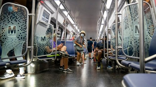 DC's Metro pulls half of its rail cars over safety compliance problem