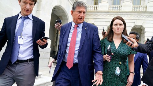 Hundreds in West Virginia protest Manchin's opposition to voting rights legislation