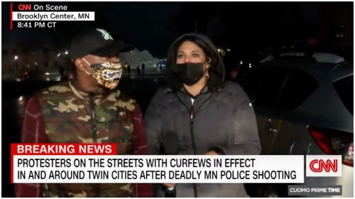 CNN reporter confronted In Minneapolis suburb: 'I'm not going anywhere'