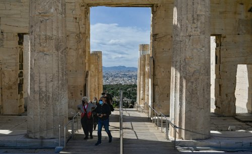 Controversy erupts over concreting of world-famous Acropolis