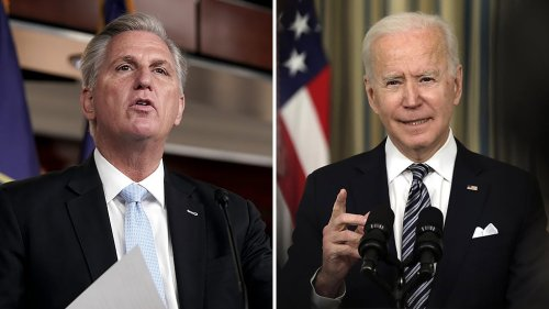 McCarthy pushes back on Biden criticism of GOP at NATO