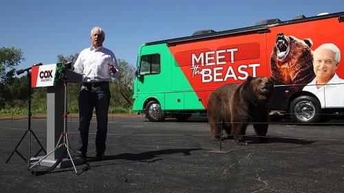 California gubernatorial candidate under investigation for 1,000 lb. bear campaign mascot