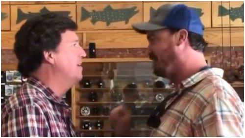 Fox News blasts 'ambush' of Carlson at Montana fly-fishing store