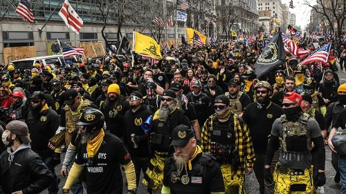 Trump White House associate tied to Proud Boys before riot via cell phone data