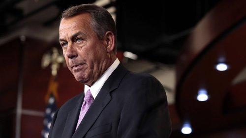 Boehner finally calls it as he sees it
