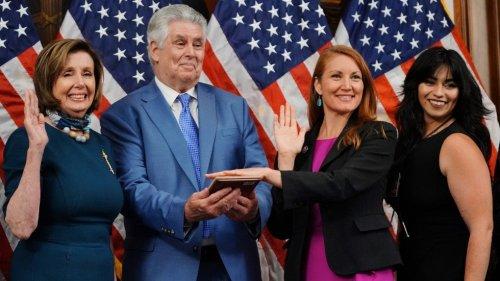 New Mexico Democrat Stansbury sworn into Haaland's old seat