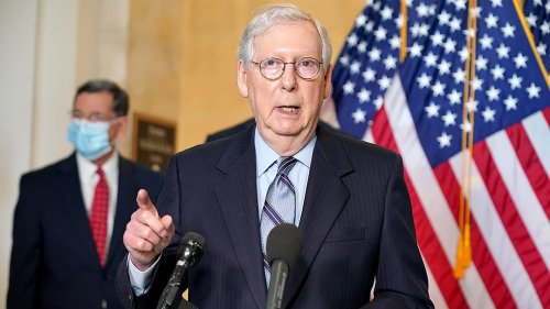 McConnell vents over 'fake news'